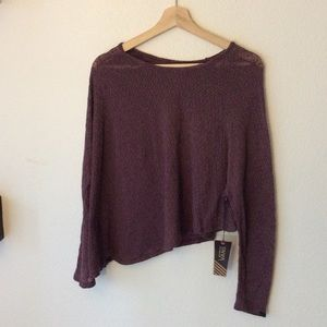 NWT Vans Lightweight One Sleeved Poncho Top